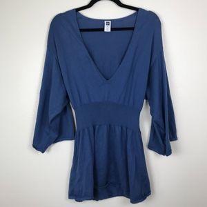 3/$20 Gap V Neck Wide Sleeve Knit Top